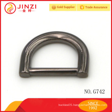 Factory direct price metal d ring for bag strap