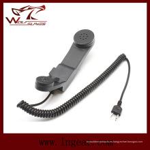 Z. táctica militar H-250 teléfono micrófono Ptt