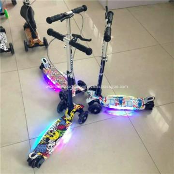 High Plastic Children Kick Scooter