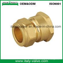 OEM & ODM Qualité Brass Forged Strainght Compression Coupling (AV7002)