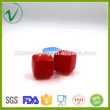Bife de plástico de plástico colorido cube de plástico de grau LDPE