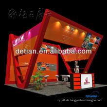 20x20 Insel Ausstellungsstand Design und Konstruktion
