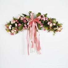 Горячий продавать пластиковые цветочные гирлянды для партии свадебные украшения