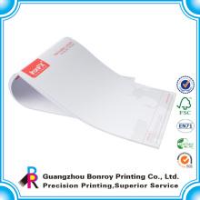 Impresión con membrete de la empresa comercial A4 A5