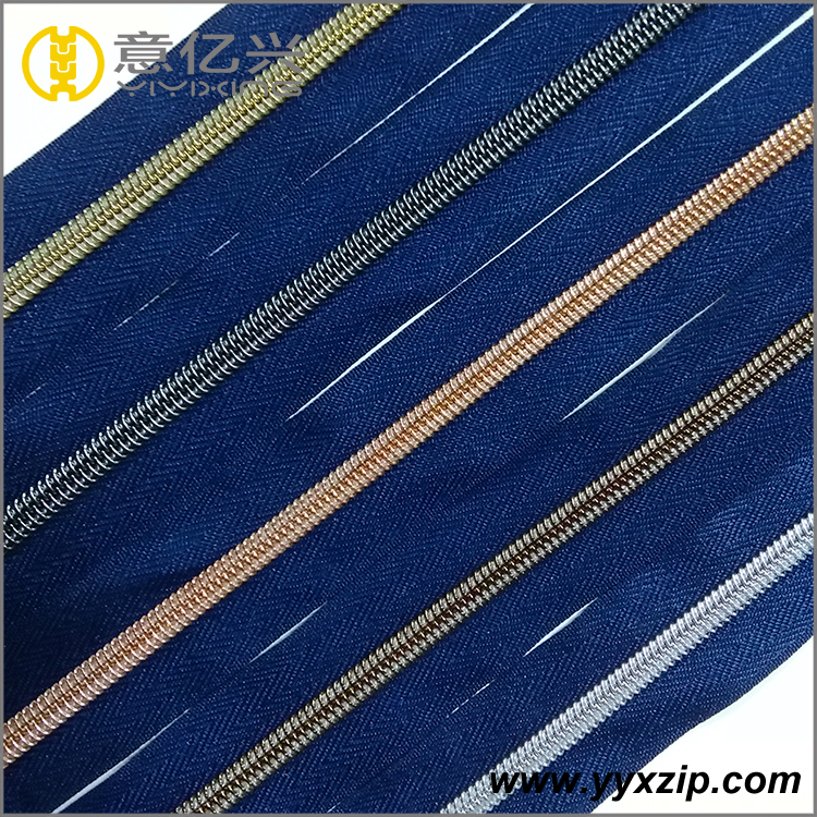 Navy Blue Nylon Zipper