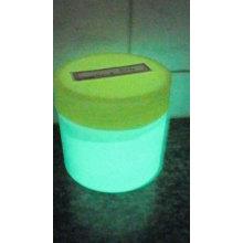 Green light luminous powder