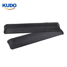 2 Piece 19 Inch Adjustable Factory Auto Soft Universal Car Roof Rack Long Pad For Surfboards Paddleboards