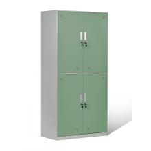 Индивидуальный дизайн 4 двери стальной школьный шкафчик