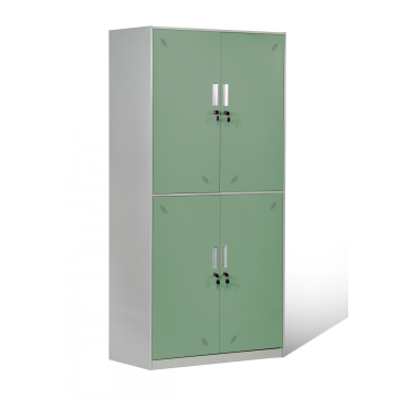 Kundenspezifisches Design 4 Türer Stahl School Locker
