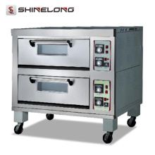 K176 Two Layer Electric Pizza Maker Machine
