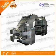Флексографская печатная машина для пластиковой пленки высокой печати