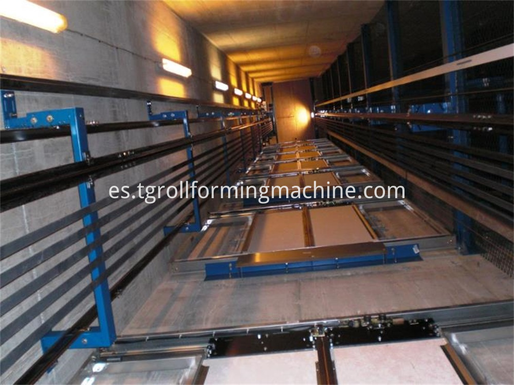 Elevator Closed Guide Rail Roll Forming Machine