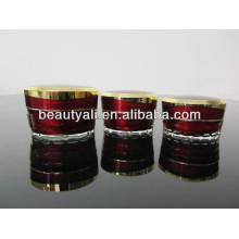 15ml 30ml 50ml Tapered Luxury Cosmetic Packaging Acrylic Jar