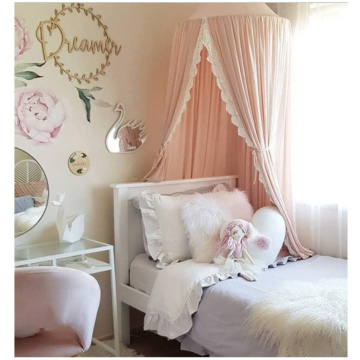 Dome Princess Bed Canopy Curtain katoenen tent