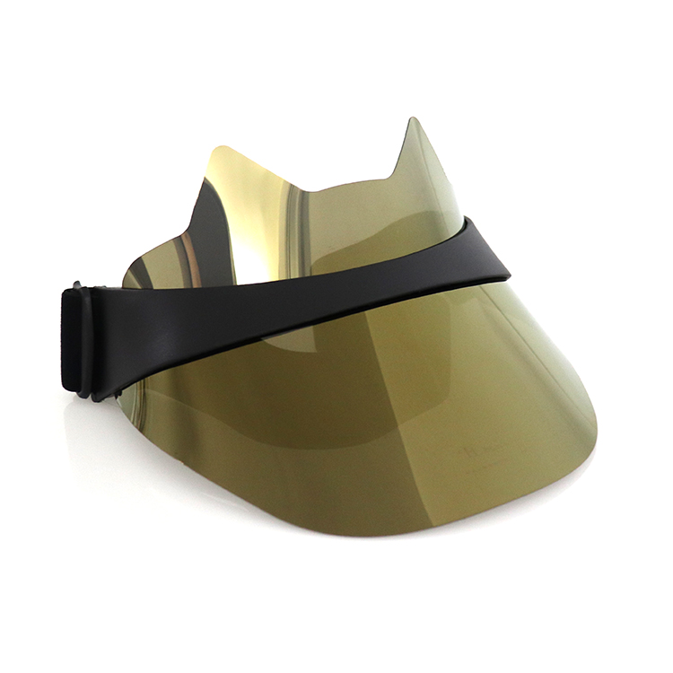 Gold Visor Hat Women Hat