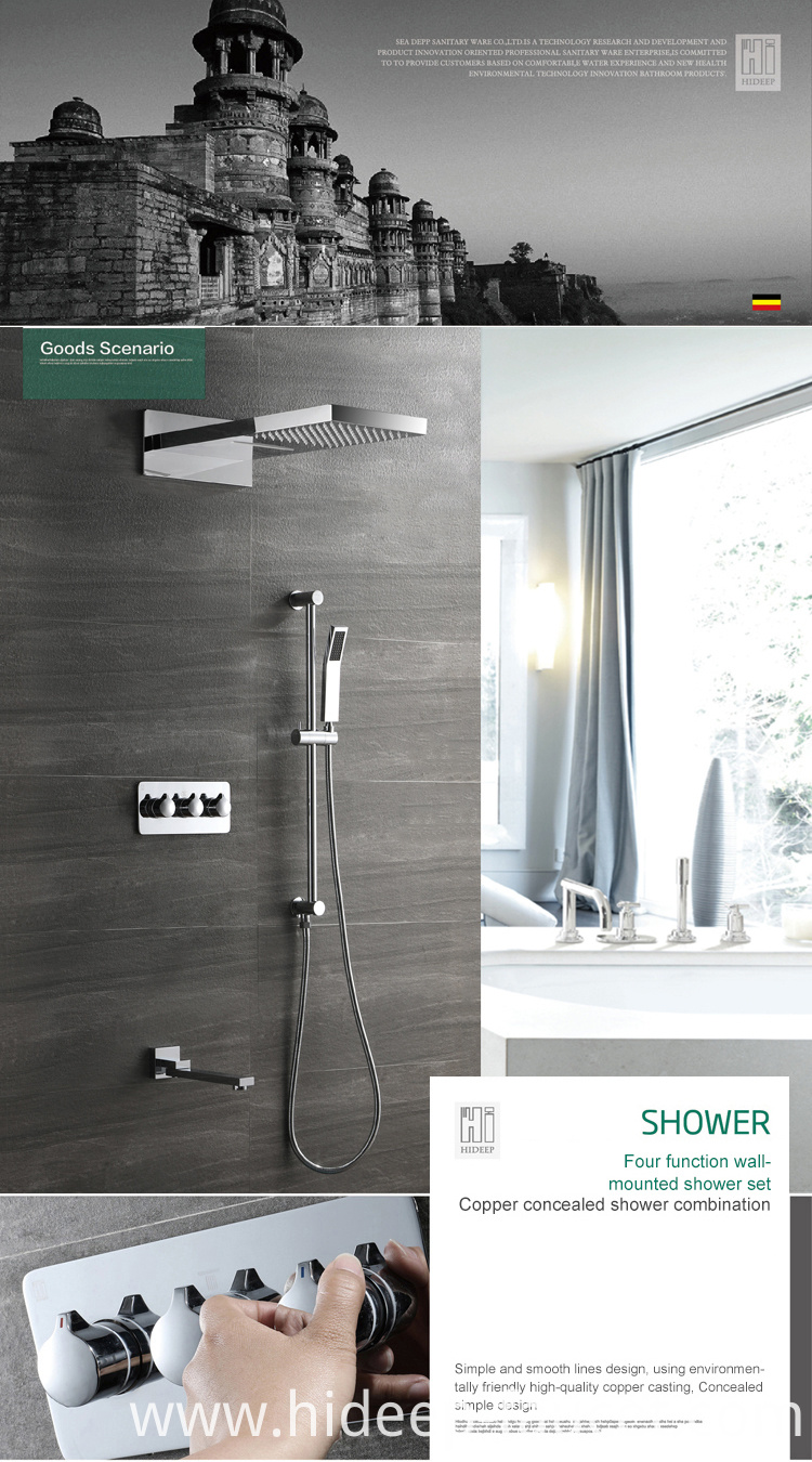 Thermostatic Shower Valve
