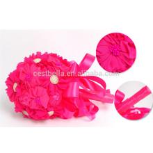Heiße verkaufenperle künstlicher farbiger schöner Hochzeitsblumenstrauß