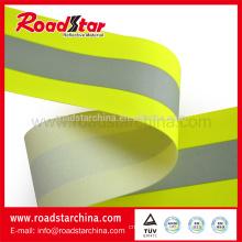 Pure Aramid material reflective flame retardant tape