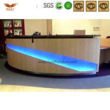 fashion Gleamy Office Reception Desk Salon Front Desk (HY-Q22)