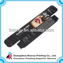 impressão cosmética feita sob encomenda da caixa do chicote do olho