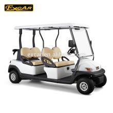 EXCAR pas cher 4 places golf électrique chariot électrique voiture de golf chariot buggy voiture