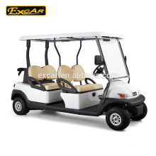 EXCAR 4 seat electric golf cart from China electric golf buggy car