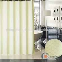 Hotsale design luxo duplo lado jacquard chuveiro cortinas