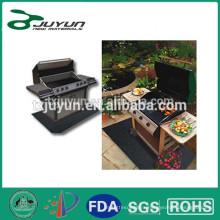 Reusable bbq grill mat