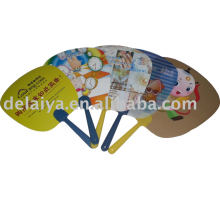 Promotional PP plastic hand fan