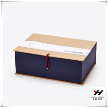 2017 Top qualité et prix bas bricolage unique style papier cadeau boîte
