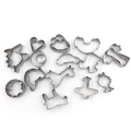 Cortador de galletas de acero inoxidable 21pcs Holiday Shapes favorito
