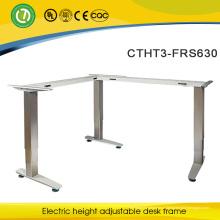 Офисная мебель стоя стол с электрический L-образная стальная рама alibaba экспресс