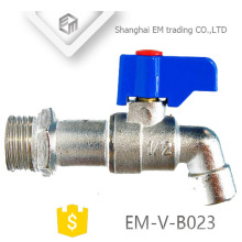 "EM-V-B023 1/2"" forged male thread brass bibcock/ tap /faucet"
