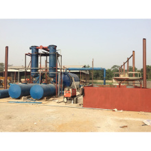 máquina de borracha contínua ambiental da pirólise ao óleo