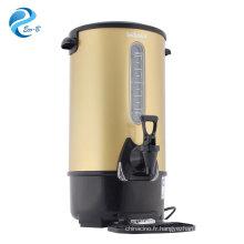 Nouvelle bouilloire commerciale de couleur en option de haute qualité, chaudière électrique de 8 à 35 litres avec capteur de niveau