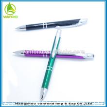 Высокое качество логотип подгонять Алюминиевая шариковая ручка оптом