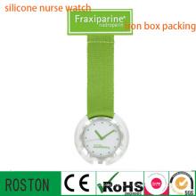 Horloge infirmière en nylon avec imperméable à l'eau