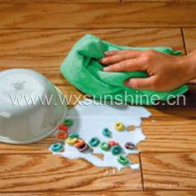Вязаное полотенце утка из микрофибры (ST005)