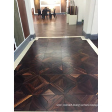 Indonesia Rosewood Parquet Flooring for The Showroom
