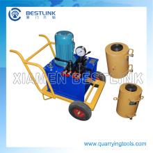 Good Quality Stone Hydraulic Jack Machine for Quarrying