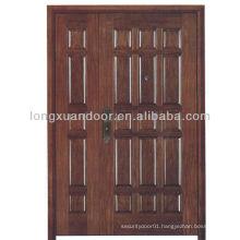 fireproof wood double door for sale , BS standard