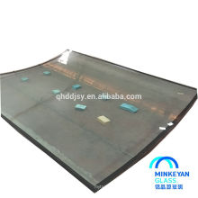 bset price low-e low-iron 12mm toughened glass for door design made in China