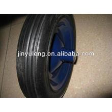 "12.5"" x2.5""rueda sólida de uso de carretilla"
