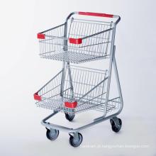 Carrinhos de compras estilo Canadá