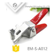 EM-S-A012 Zinc plaqué pièces d'emboutissage Clé à tête unique pour la vanne de verrouillage