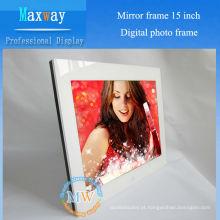 Exibição de quadro encantado 15 polegadas foto digital