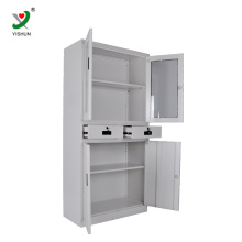Cheap furniture KD used stainless steel cabinet office filing cabinet metal storage cabinets sale