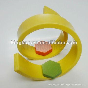 Feuille de pierre acrylique de 12mm, surface solide acrylique de 100, moules à la pierre artificielle