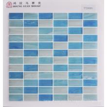 Mosaico de vidrio para azulejos de pared 23 * 48mm