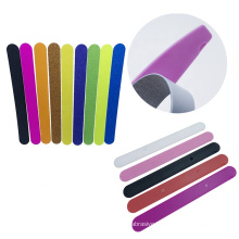 High Quality Custom Half moon Nail file replaceable sandpaper